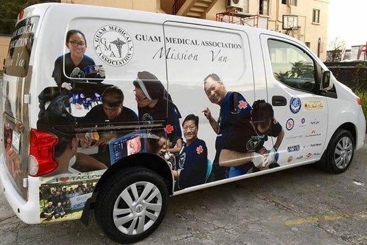 Guam Medical Association van