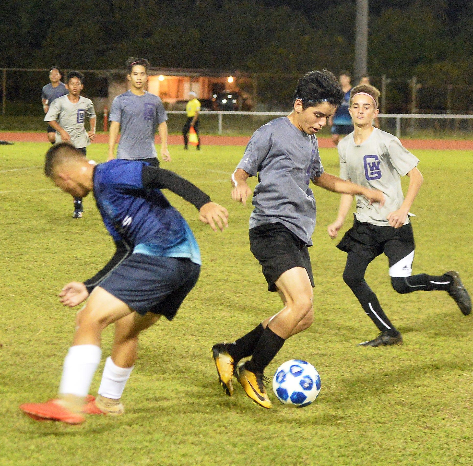 Royals finally get soccer win