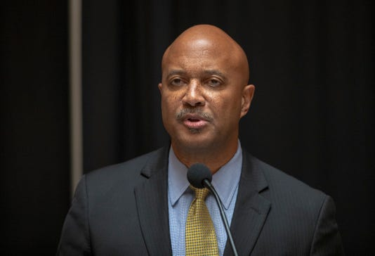 Curtis Hill Gives Press Conference Amid Accusations
