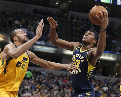 No Vic, no sweat Pacers steamroll Jazz 121-94