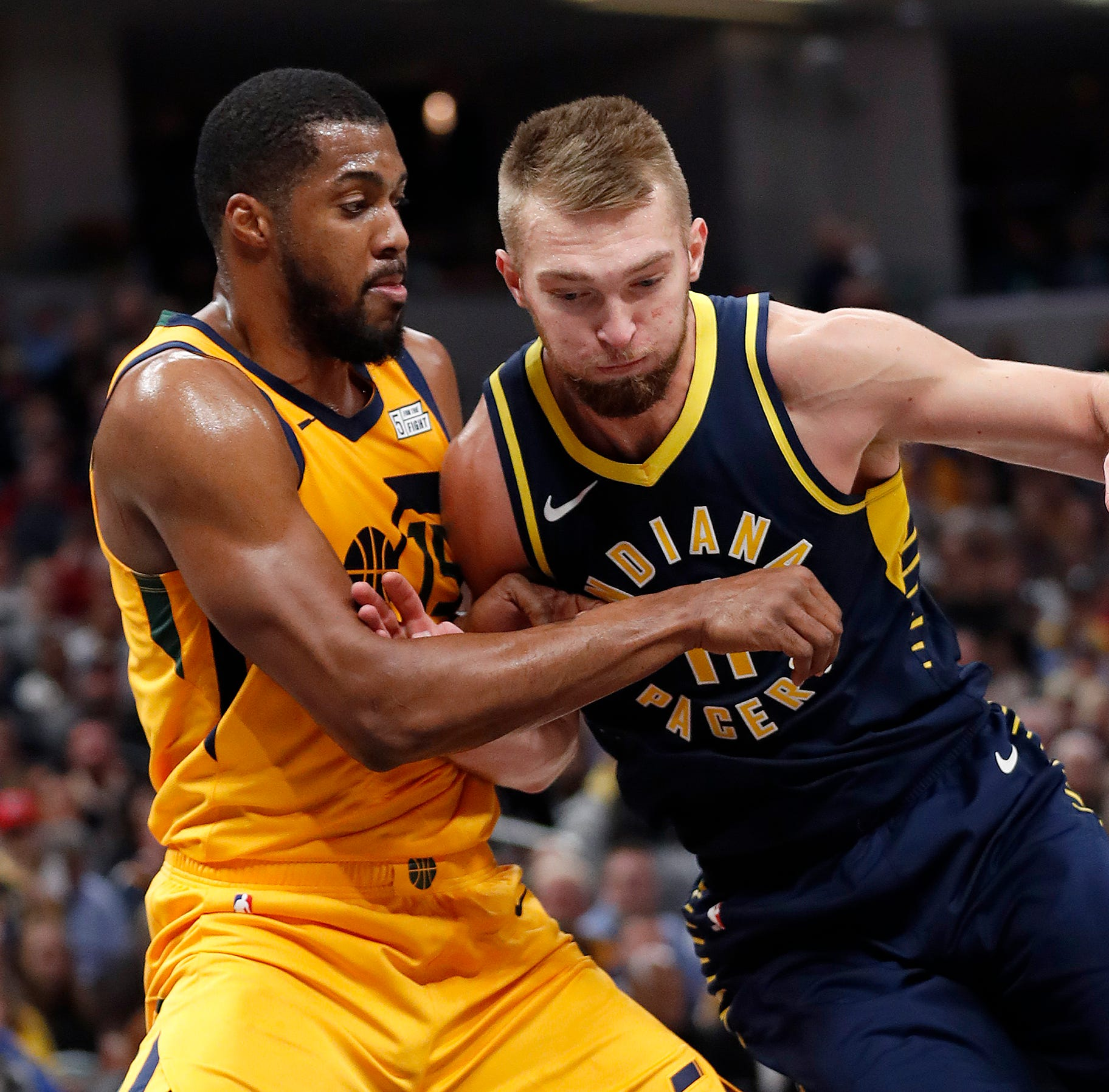 No Vic, no sweat: Pacers steamroll Jazz 121-94