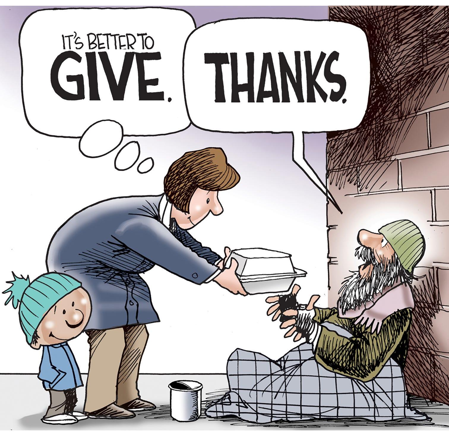 Cartoonist Gary Varvel: Happy Thanksgiving