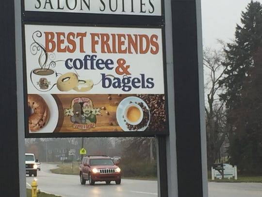 Bob Goodpaster and Chico Mbanu opened Best Friends Coffee & Bagels in July on West Main Street in Brownsburg.