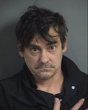 Bradley Thomas Starling, 47, is being held without bond at the Johnson County Jail on a domestic abuse assault charge.