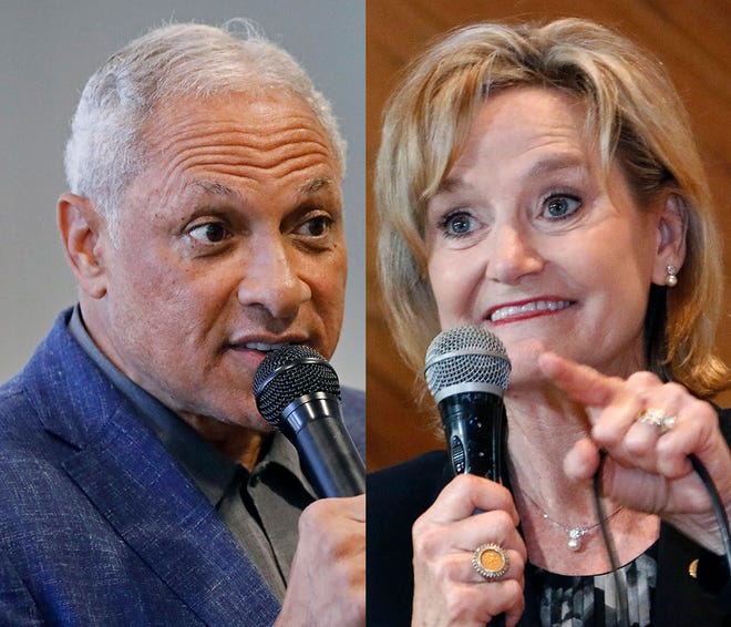 Mike Espy (left) and Sen. Cindy Hyde-Smith