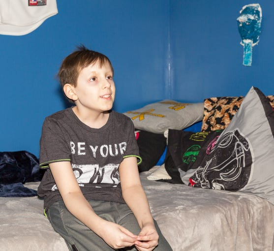 13 Year Old Aiden Taylor Doesnt Let Brain Cancer Keep Him From Being A Kid