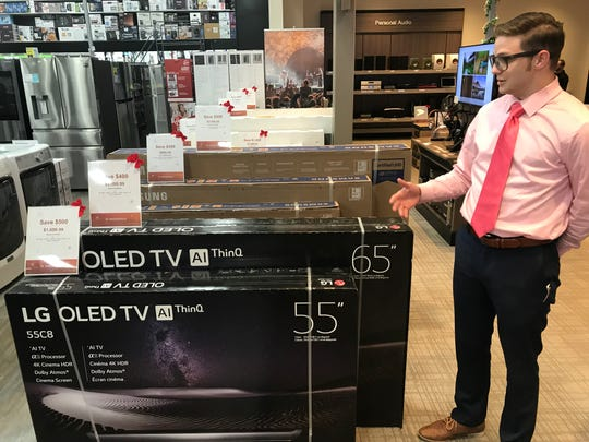 TVs remain a big Black Friday seller, and Best Buy is offering some at deep discounts. Senior System Designer Vincent LaSpina describes the deals in the Towne & Country Circle store.