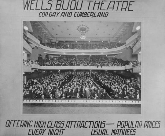 Bijou Theatre opening night. 1909