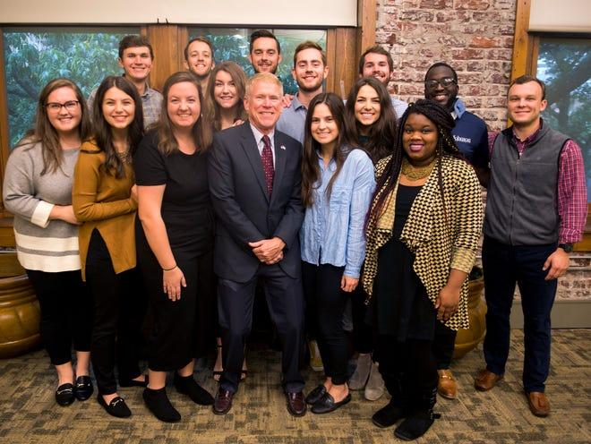 The 2018 Knoxville Fellows with director Rick Kuhlman, center.