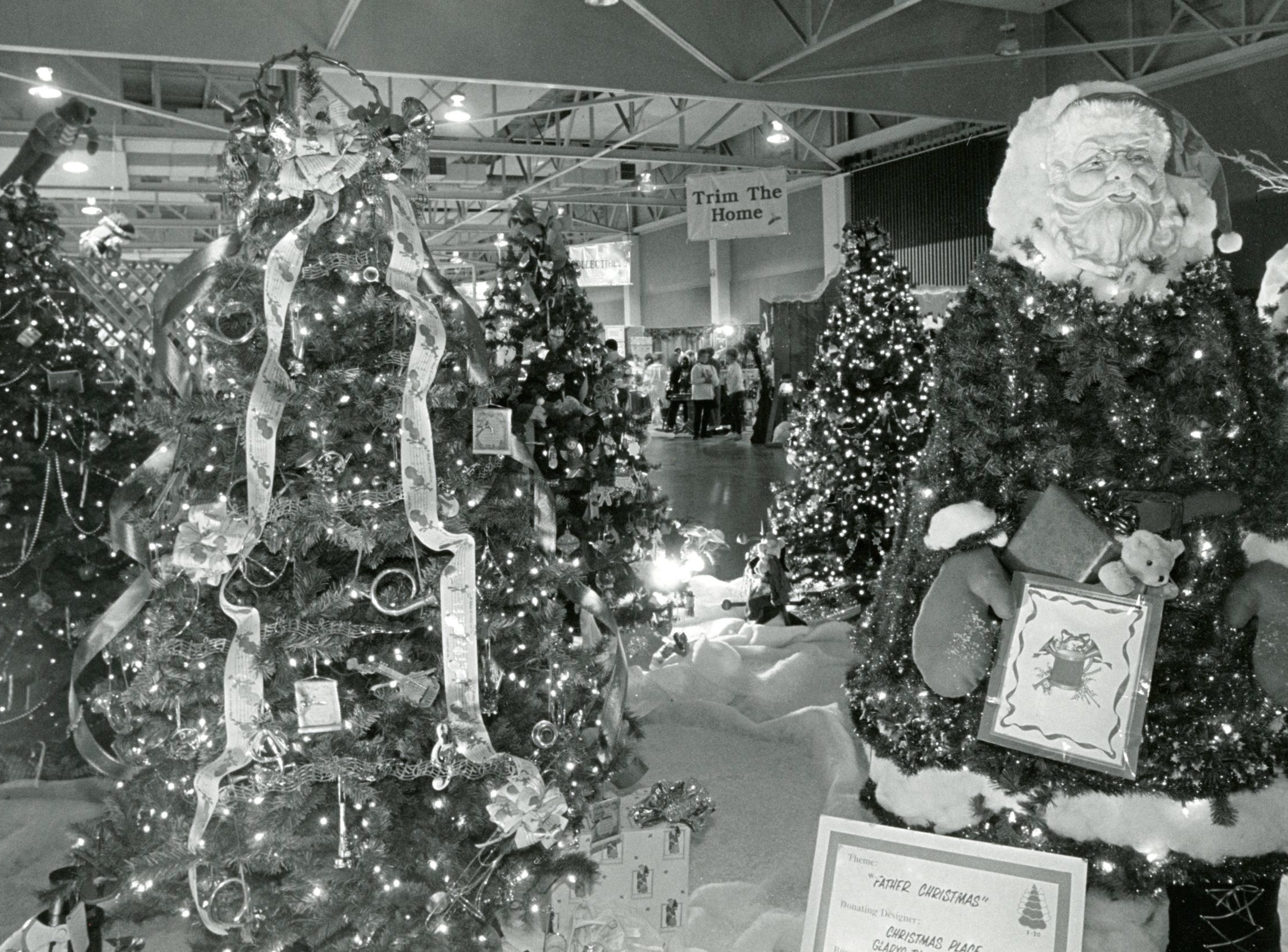Fantasy of Trees at the Knoxville Expo Center on World's Fair Park, November 1991.