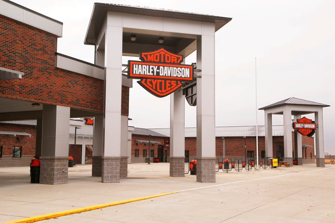 Hunter's Moon Harley-Davidson Tuesday, November 20, 2018, at 225 Progress Drive in Lafayette. Hunter's Moon Harley-Davidson is offering free T-shirts to the first 39 customers through the door and a $10 gift card on Friday after Thanksgiving.