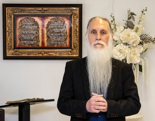 Greg Kerr Faith Healer Wants To Bring People To Jesus Through His Powers Of Healing