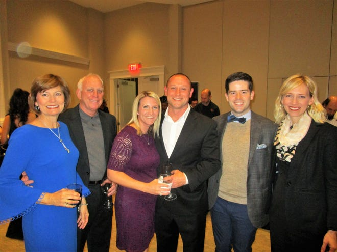 Joy and Billy Domingue, Kellie and Jon Domingue, CJ Miller and Julie Chauvin