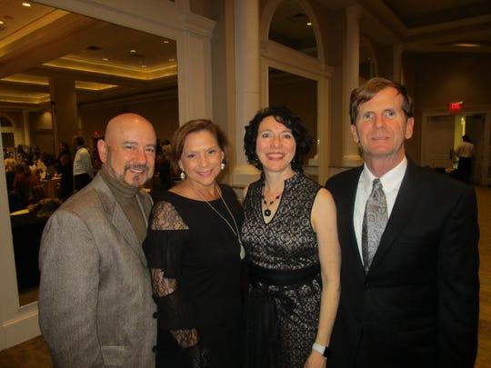 Matt Dugas, Mary Guidry, Nanette and Joe Heggie