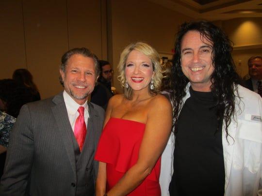 Jimmy Mallia, Laura Vickerman and Michael Israel