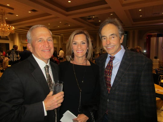 Kim Hardy, Mary Gretchen and Paul J. Guilliot