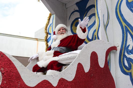 Sonic Christmas Parade 22
