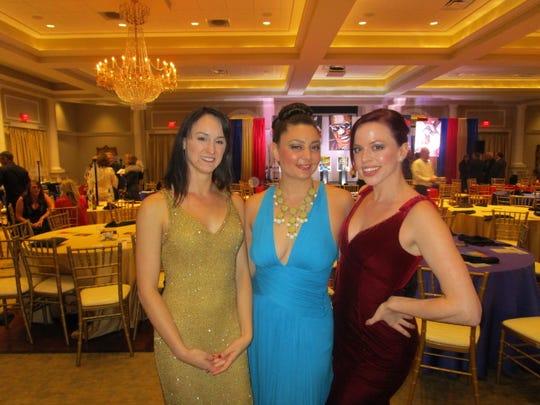 Kayla Arwood, Alexandra Culotta and Megan Conner