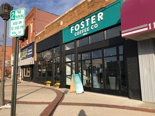 Foster Coffee Company in downtown Owosso.