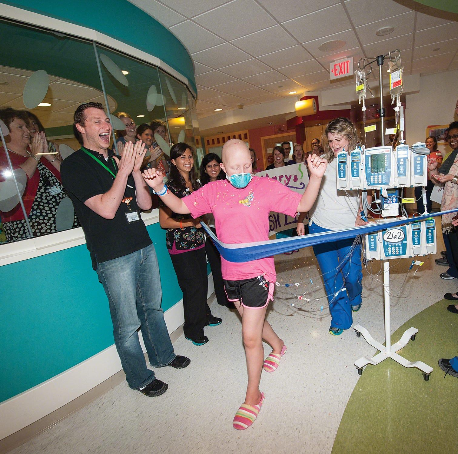 Three-time cancer survivor ready to run St. Jude 10K
