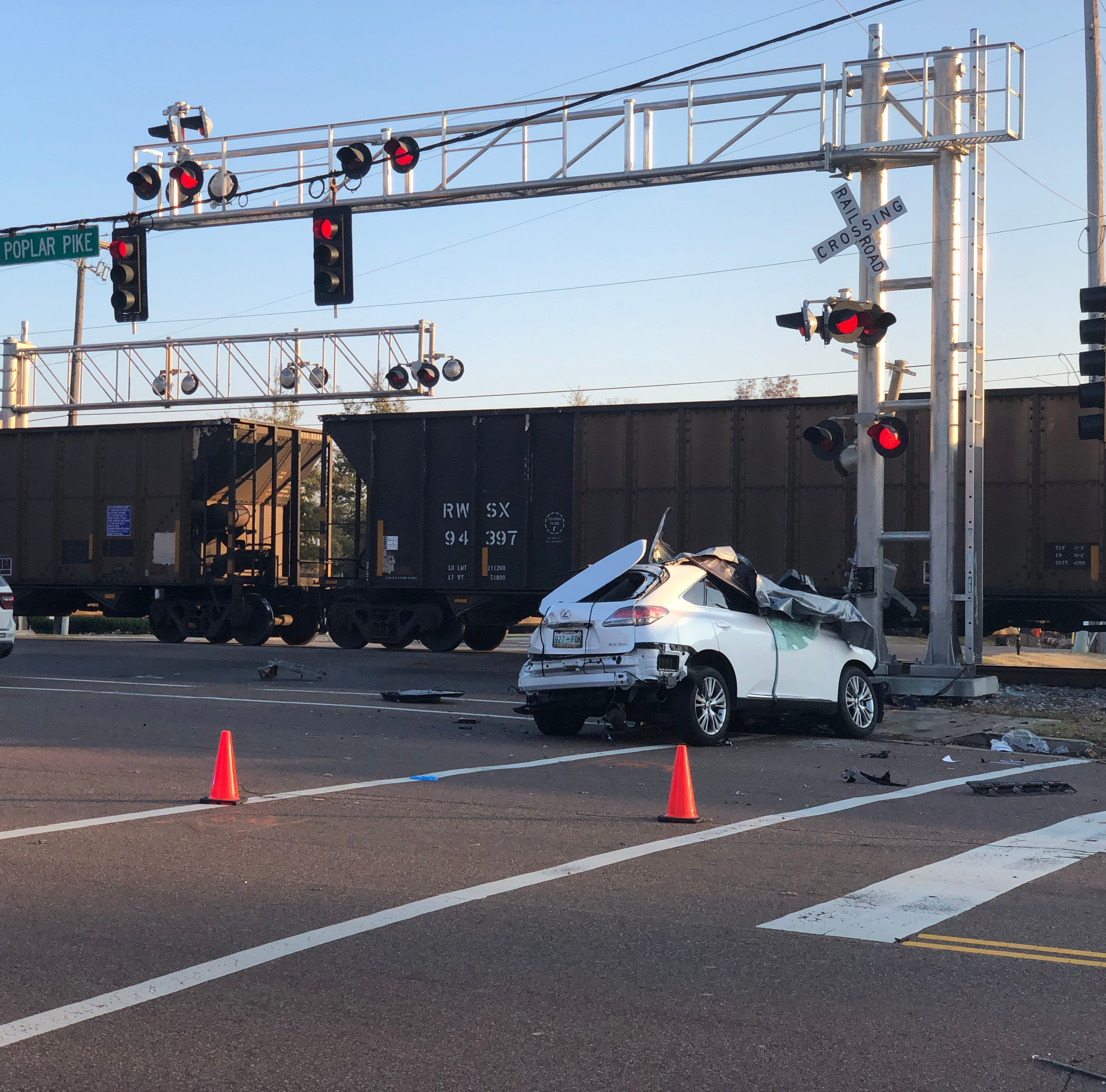 Memphis couple killed in Germantown train-car collision