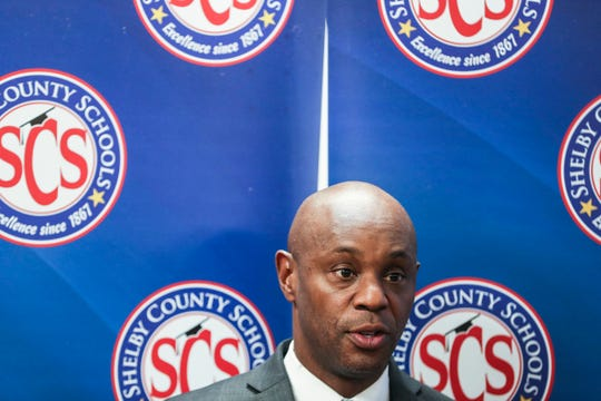 November 20 2018 - Shelby County Schools Superintendent Dorsey Hopson announces his resignation from the Shelby County Schools district Tuesday afternoon, effective Jan. 8.