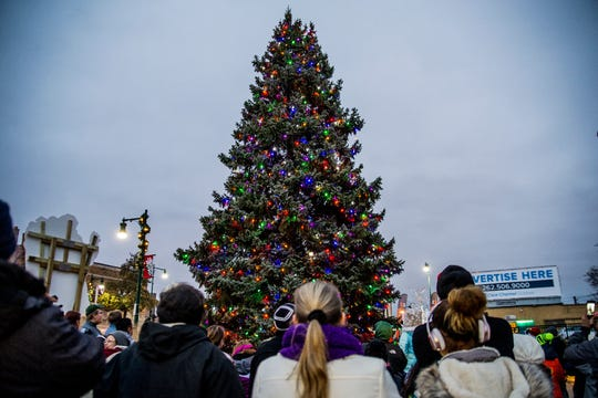 The West Allis tree lighting and community sing will be held at 4 p.m. Dec. 1 at City Hall Centennial Plaza.