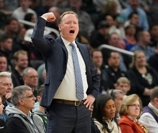"""Mike Budenholzer is """"always coming from a good place,"""" according to forward Giannis Antetokounmpo, and that may help explain why Bucks players respond to him."""