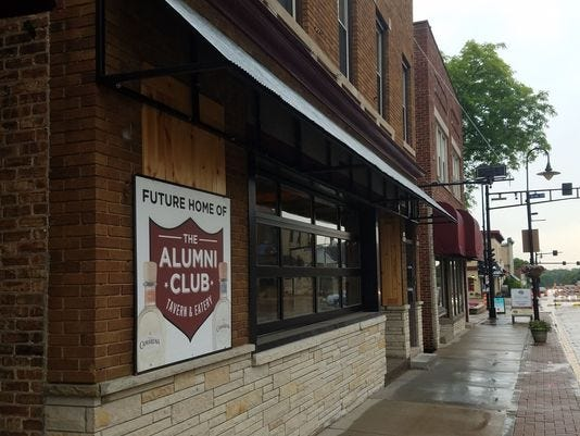 The Alumni Club will be on Appleton Avenue, in between Poppy & Thyme and the Menomonee Falls Business Improvement District office. It's being themed as a casual local sports eatery.