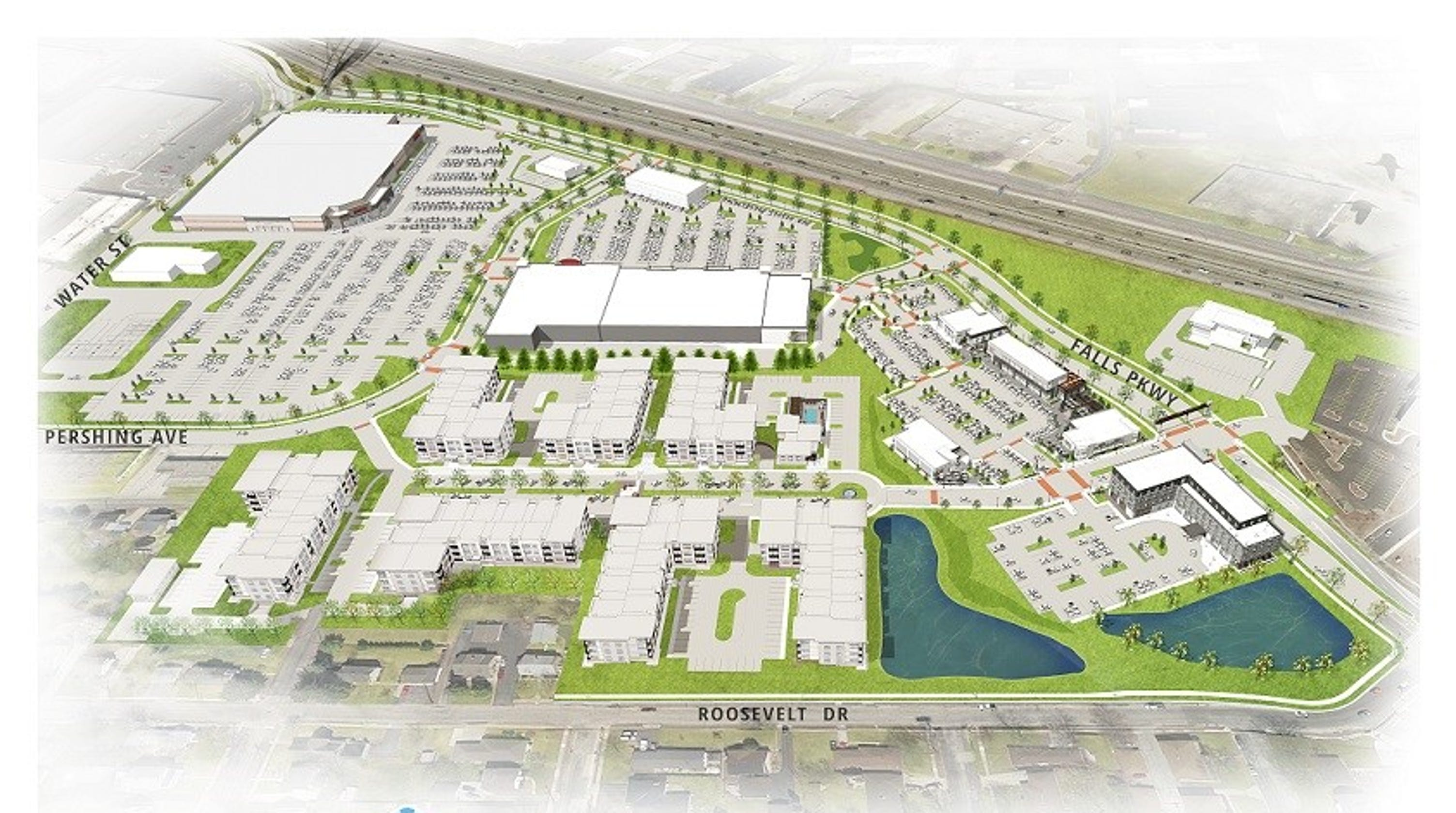 Olive Garden Proposed For Menomonee Falls White Stone Station Polygo Minie Mouse By Sentinel