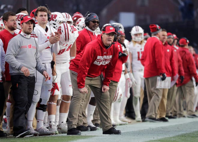 UW coach Paul Chryst watched his team commit 13 penalties for 125 yards Saturday against Purdue, both season highs.