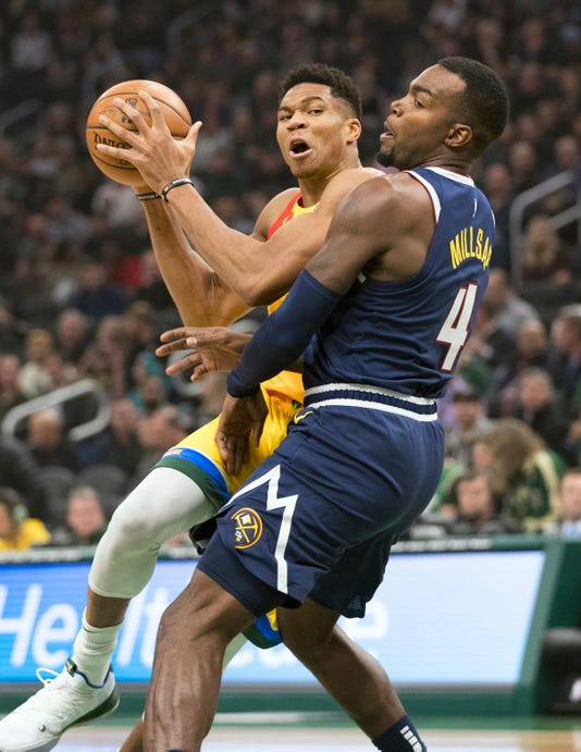 Nba Denver Nuggets At Milwaukee Bucks