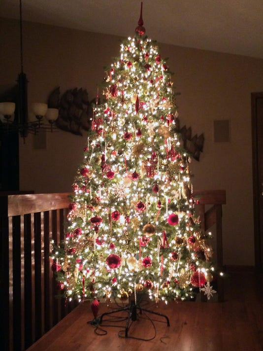 For A Striking Christmas Tree Add Lots And Lots Of Lights