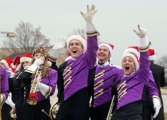 The New Berlin Christmas Parade, which is organized by the Prospect Lions Club, starts at 3 p.m. Dec. 1.