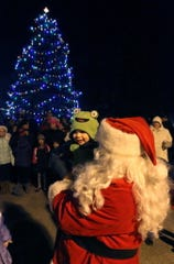 The Hales Corners tree lighting ceremony will be at 6 p.m. Dec. 1 in the Hales Corners Library's parking lot.