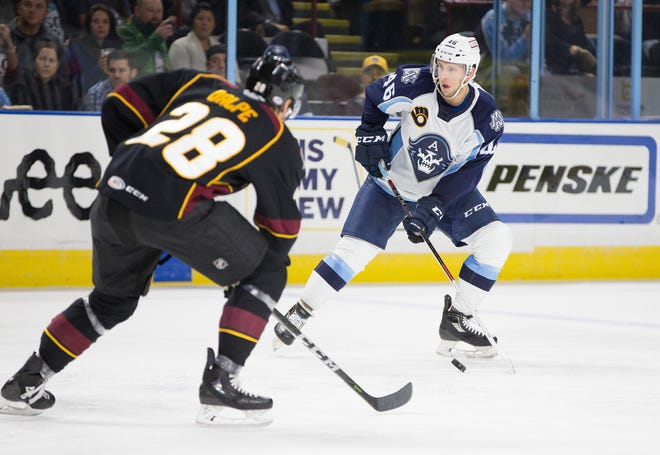 Milwaukee Admirals defenseman Matt Donovan led the team in scoring in the first month of the season and played his way into a contract with the Nashville Predators, the Admirals' NHL parent club.