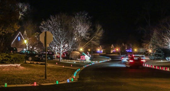 The Windsong Subdivision in Germantown hosts its 25th annual Luminary Night Sunday, Dec. 2. Proceeds are donated to the Washington County Food Pantry.