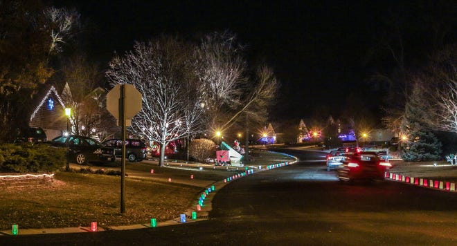 The Windsong subdivision in Germantown hosts its 25th annual Luminaria Night on Sunday, Dec. 2. Proceeds are donated to the Washington County Food Pantry.