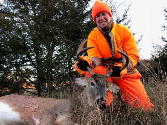 Jim Stern Of Wauwatosa Buck Shot Nov 18 2018 In Marquette County