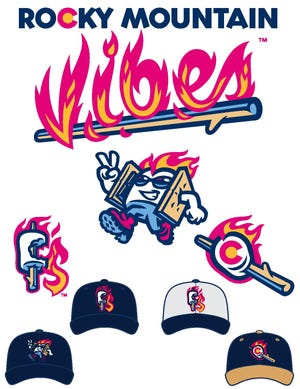 A look at the new logos for the Rocky Mountain Vibes