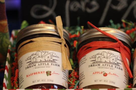 Dream Apple's products, including raspberry jam and apple butter, are made entirely from fruit grown on the farm.