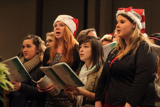 The Drexel Town Square Tree Lighting festivities run from 5:30 to 7:30 p.m. Dec. 5. Oak Creek High School students sang at it in the past. This year, Midwest Vocal Express will perform.
