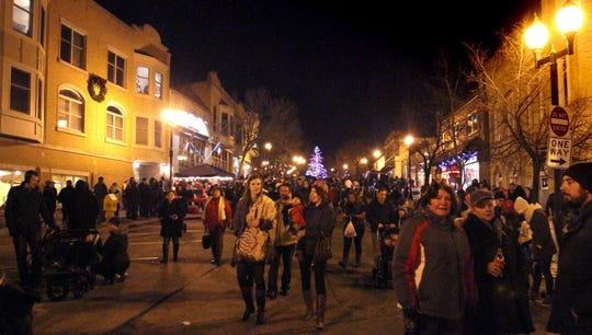 The annual Wauwatosa Village holiday tree lighting will be at Pocket Park at 6 p.m. Nov. 30.