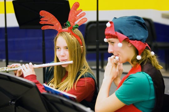 The Kettle Moraine High School Breakfast with Santa and Holiday Craft Fair invites guests to enjoy breakfast and shopping while being serenaded by holiday tunes performed by students.