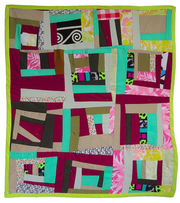 A baby quilt by Madam Chino.