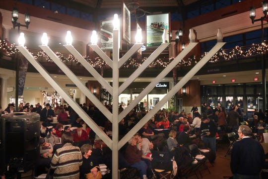 The Bayshore Town Center rotunda will once again host a Menorah lighting Sunday, Dec. 2.