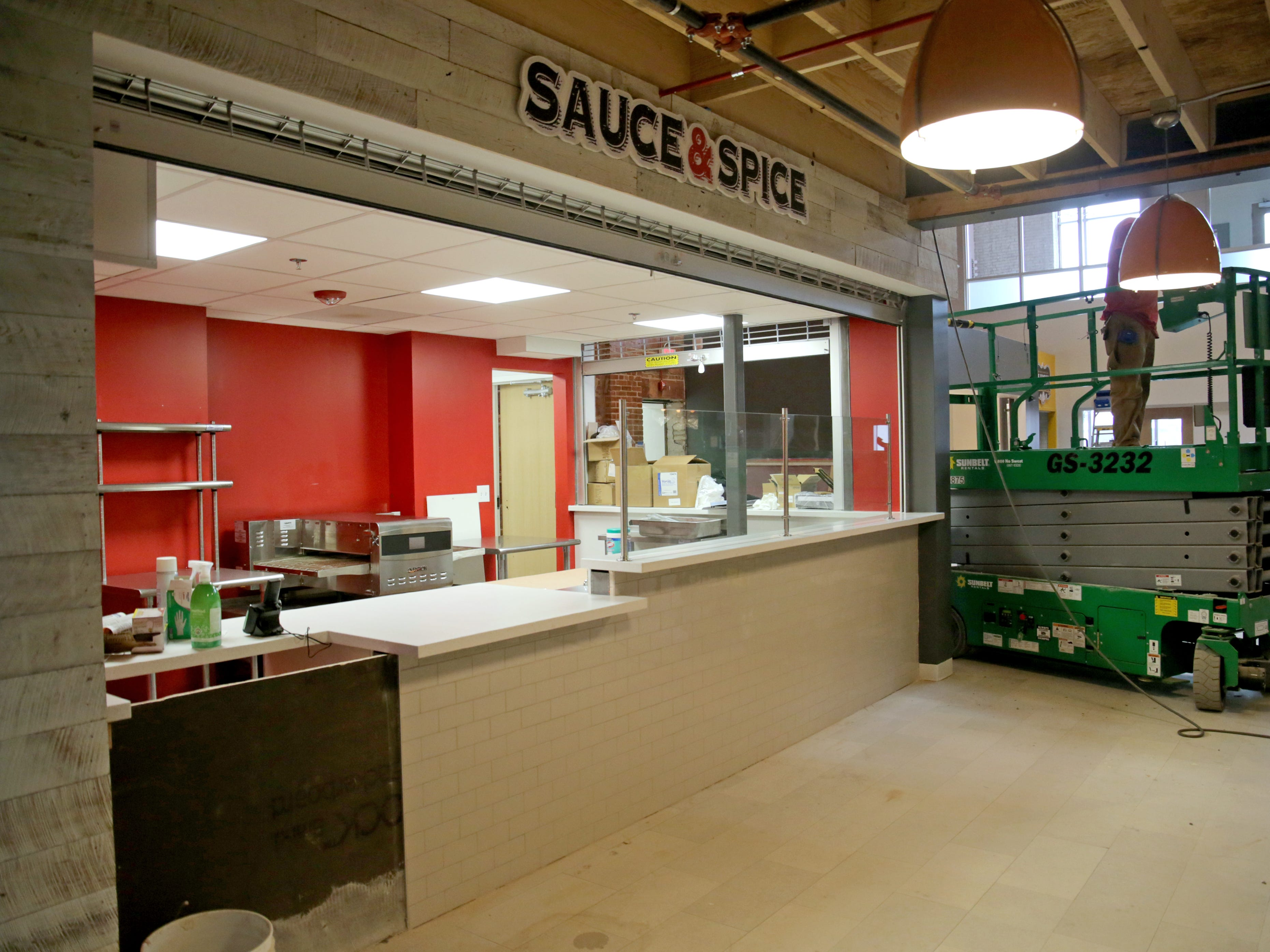A Sauce & Spice, a pizza restaurant, will be on the first floor at Sherman Phoenix.