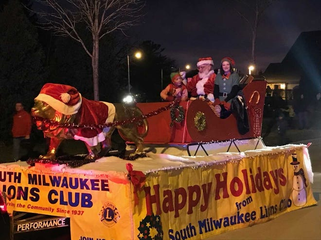 The St. Francis Christmas Parade will be at 3 p.m. and the South Shore Christmas Parade will be in Cudahy at 4 p.m. Dec. 1. This picture is from a previous St. Francis Christmas Parade, which was put on by the organizers of the South Shore Christmas Parade.