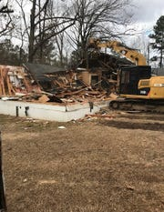 Wesley Chapel demolished its old fellowship hall in which the church was founded and built a new one that was completed in fall 2018.