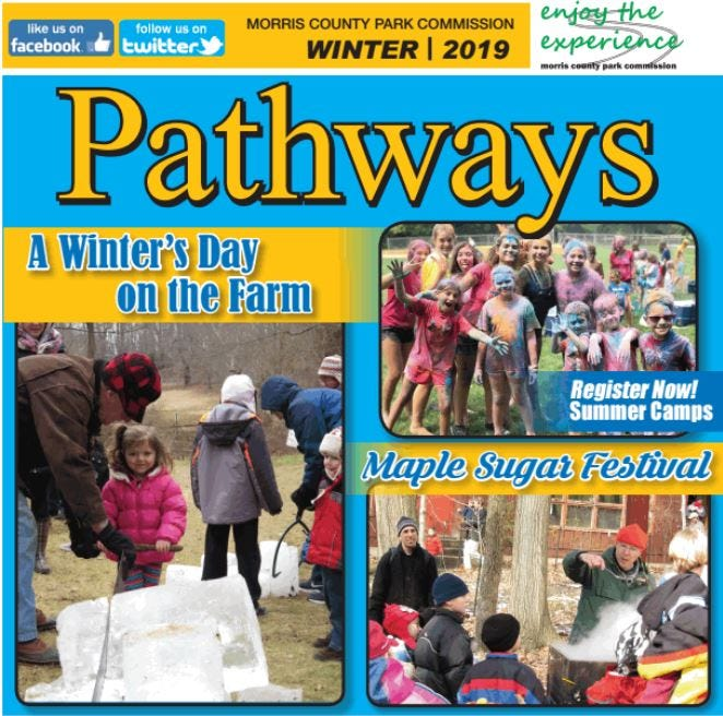 Morris Parks Winter events and activities catalog